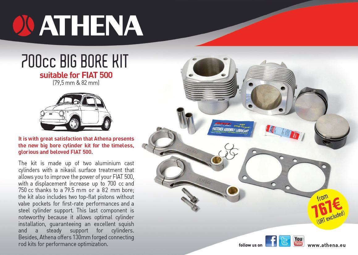 KIT BIG BORE adattabili a FIAT 500