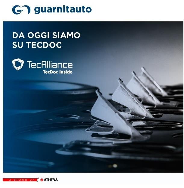 Guarnitauto è presente in TecDoc