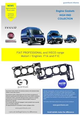 FIAT PROFESSIONAL and IVECO range